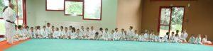 Les élèves  judokas