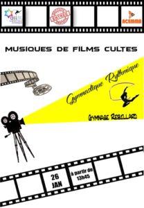Gala Gymnastique Rythmique - Musique de Films Cultes @ Gymnase Rebillard